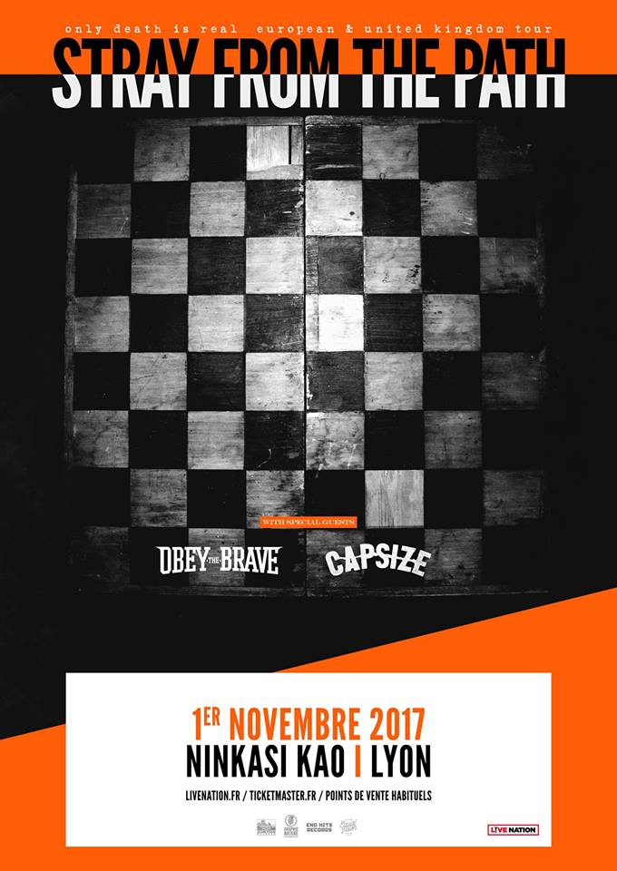 capsize obey the brave stray from the path ninkasi lyon live nation one standing live report