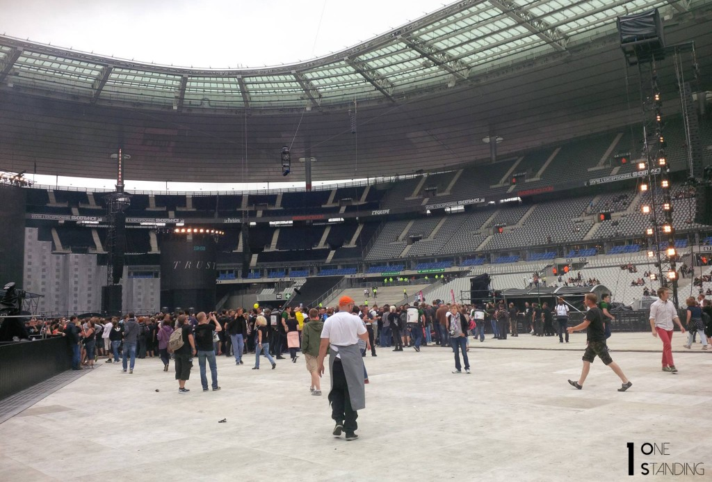 Indochine Stade de France pelouse