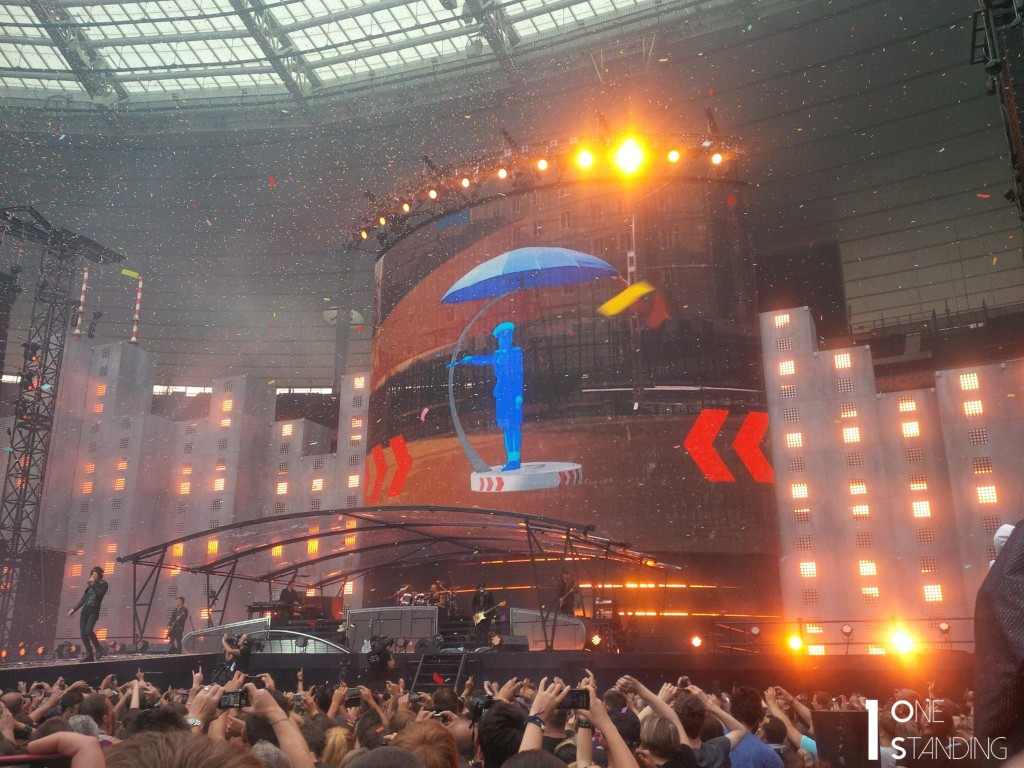 Indochine Traffic Girl Stade de France