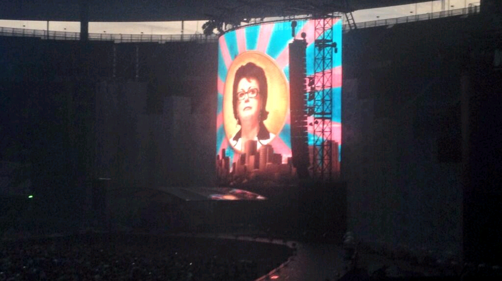 Christine Boutin Indochine Stade de France College Boy