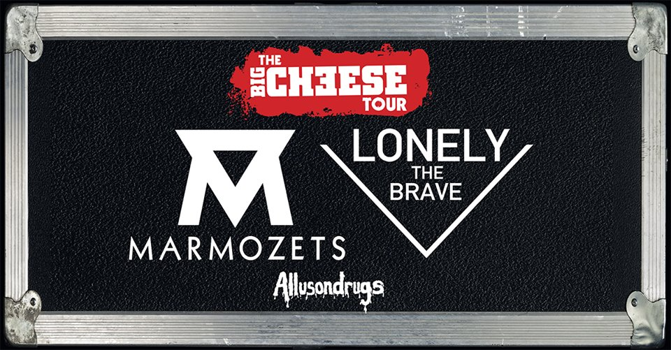 marmozets lonely the brave allusondrugs the big cheese tour