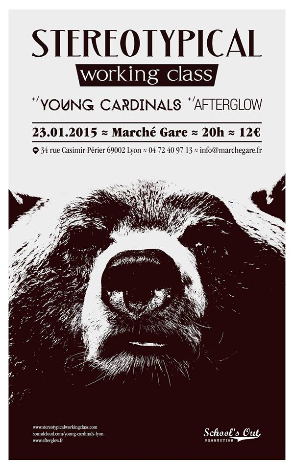 afterglow young cardinals stereotypical working class marché gare lyon one standing live report