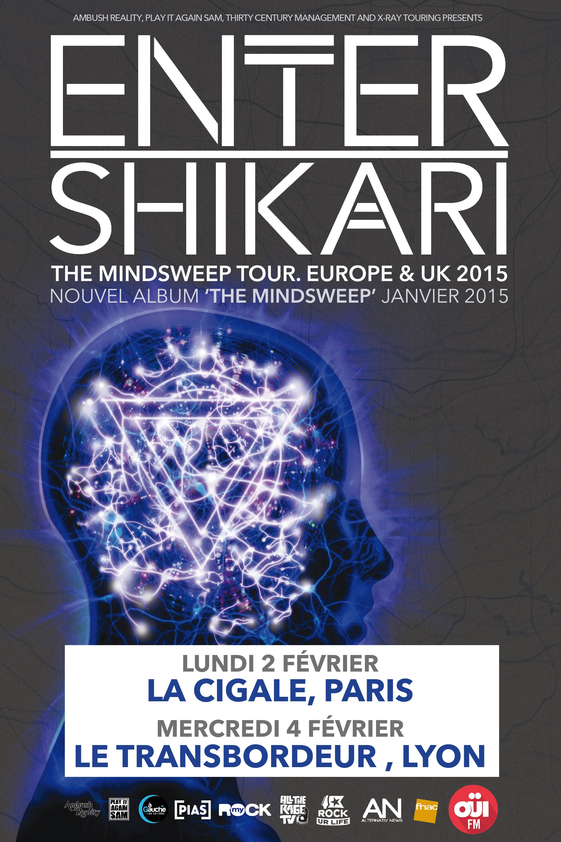 Enter Shikari arcane roots the mindsweep tour 2015 one standing live report