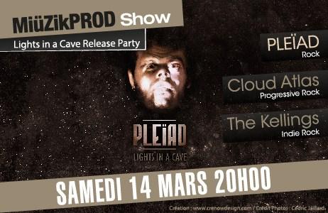 flyer release party pleïad la marquise lyon miüzik prod