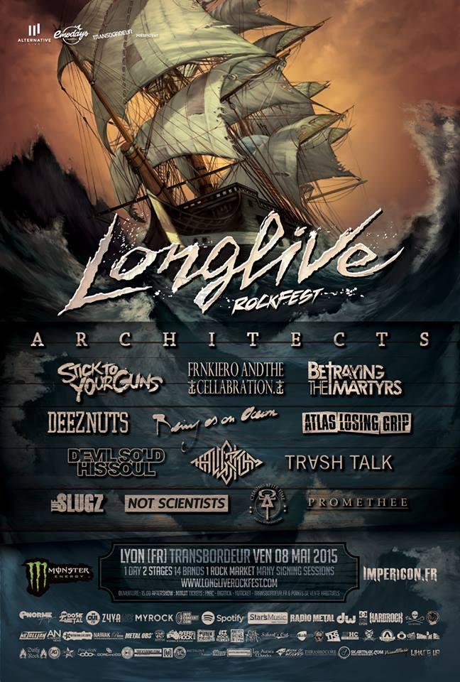 festival longlive rockfest 2015 alternative live emodays production le transbordeur lyon one standing live report