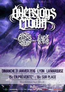 a night in texas aversions crown rings of saturn paris lyon concerts one heartbeat productions avocado booking