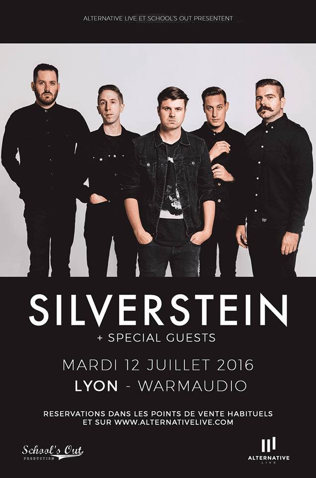 silverstein WHIST apply for a shore school's out production warmaudio one standing live report