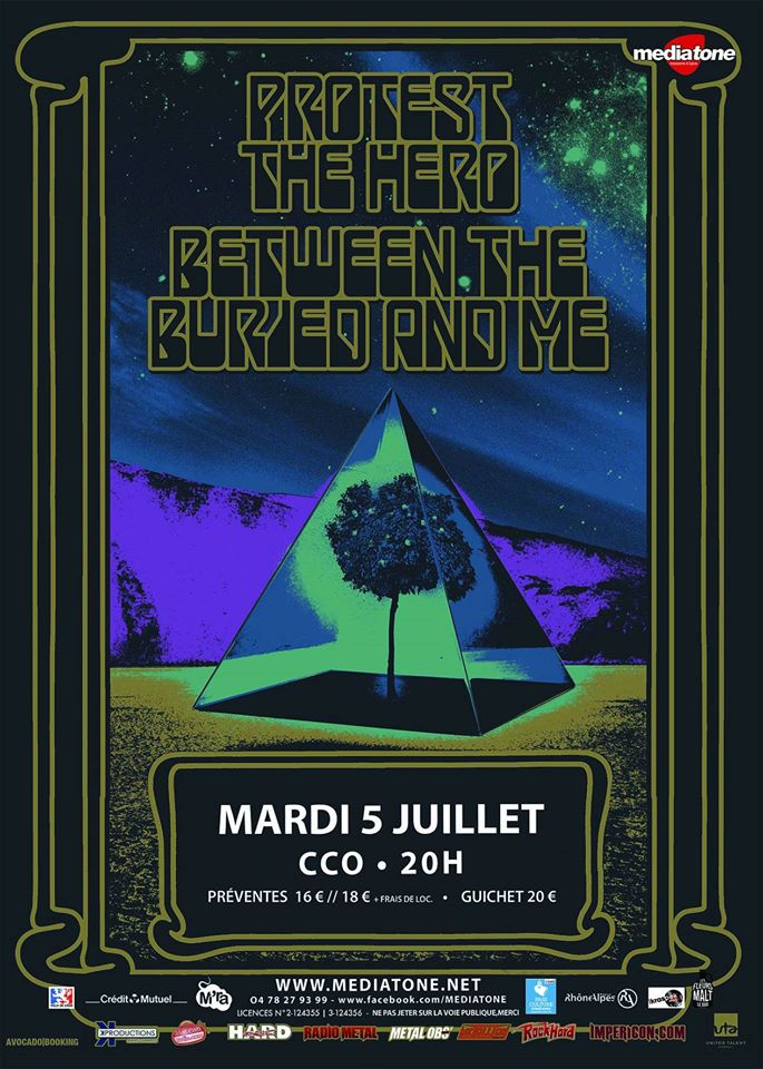 protest the hero between the buried and me mediatone lyon CCO one standing live report