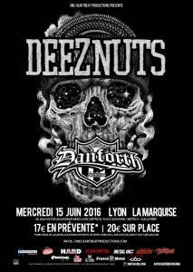 deez nuts danforth lyon la marquise tour 2016 one standing