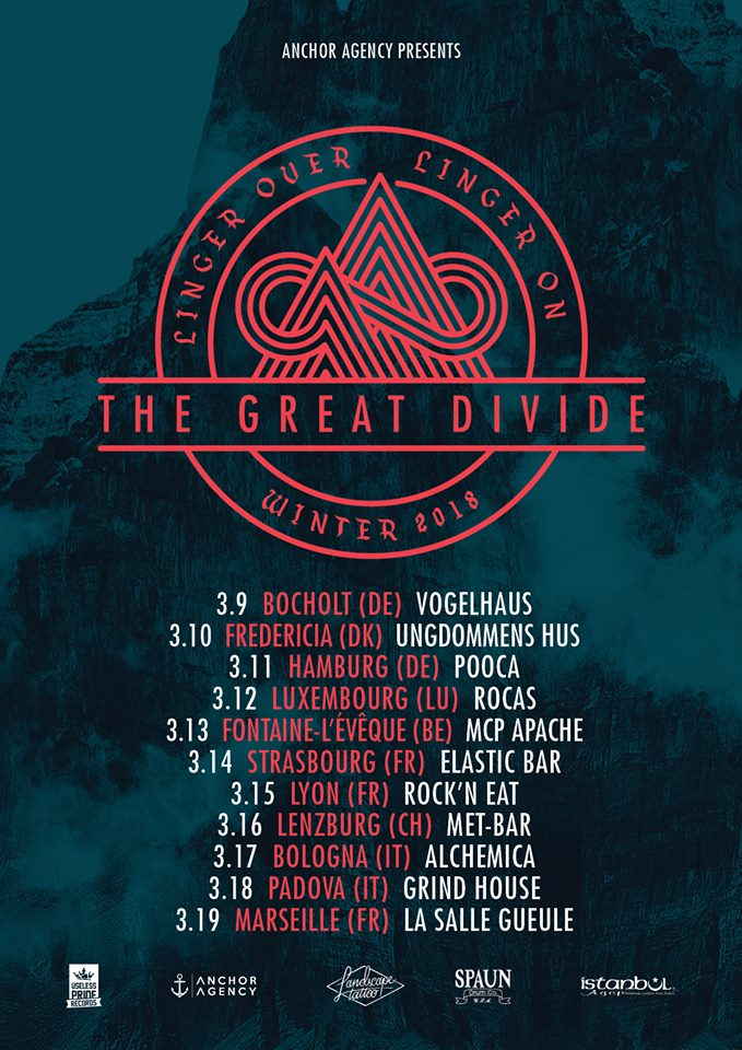 the great divide lessen kaedess rock'n'eat anchor agency one standing live report
