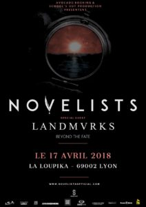 novelists landmvrks beyond the fate péniche loupika lyon avocado booking school's out production