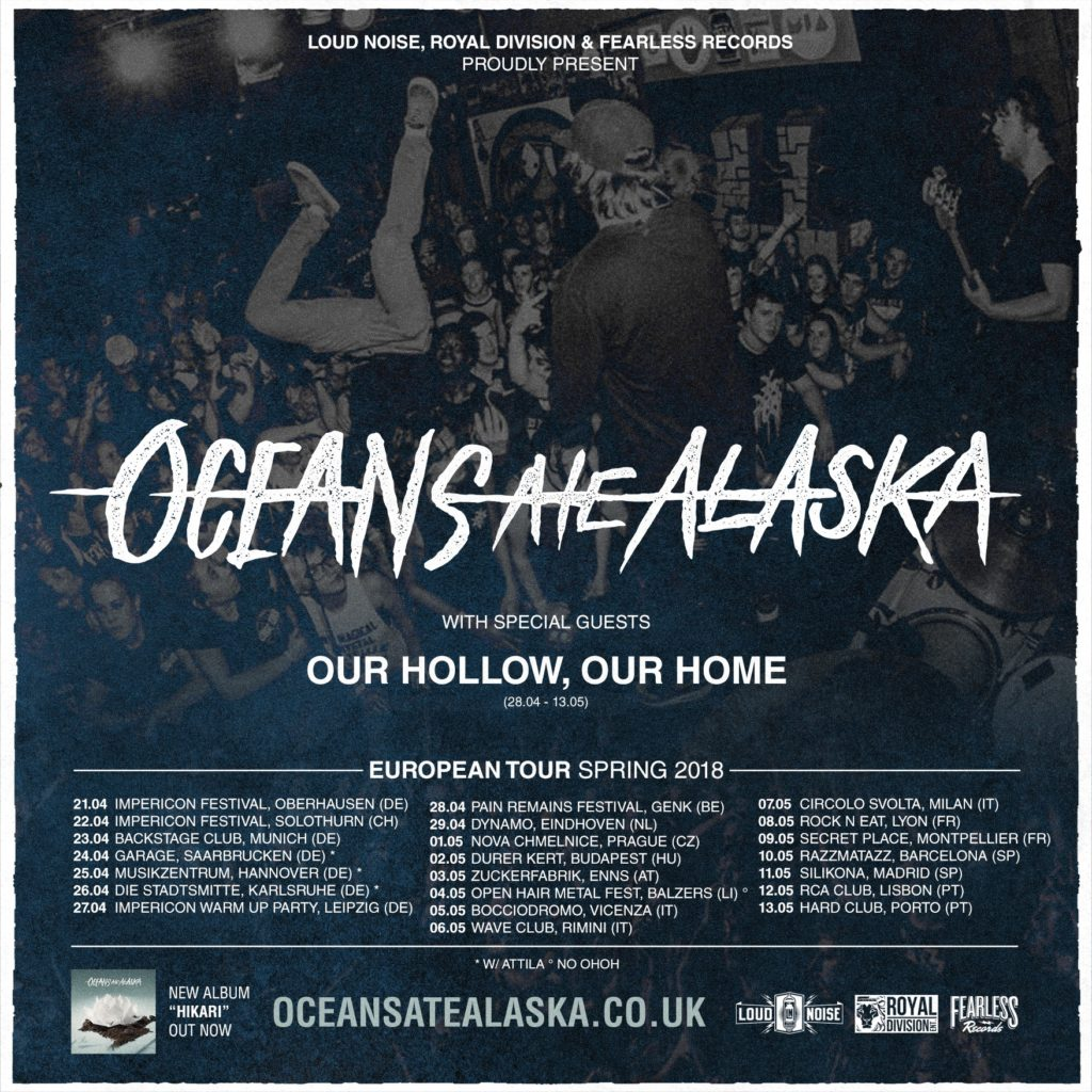 oceans ate Alaska our hollow, our home resolve rock'n'eat lyon