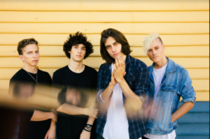the faim Australia band BMG little press