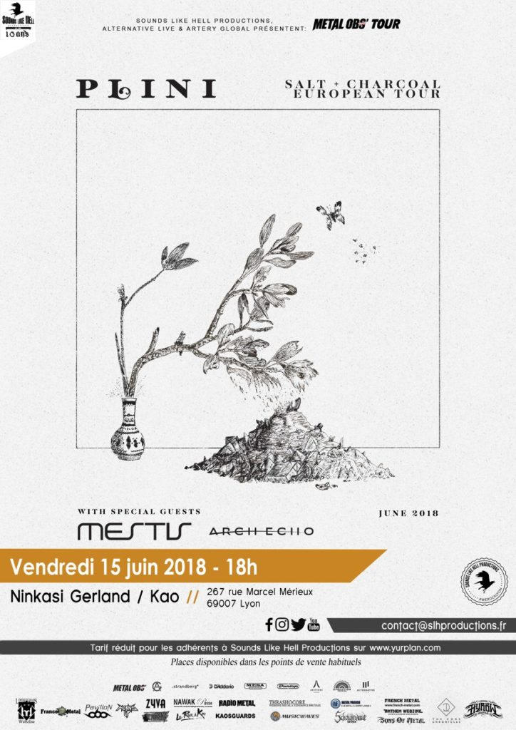 plini mestis arch echo ninkasi kaolin gerland lyon sounds like hell productions alternative live