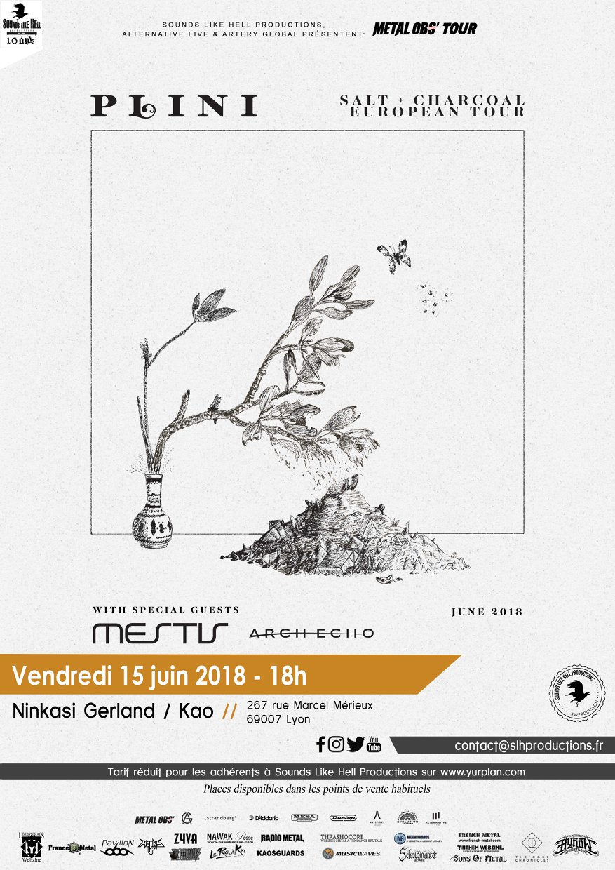 plini mestis arch echo ninkasi kao lyon sounds like hell productions one standing live report