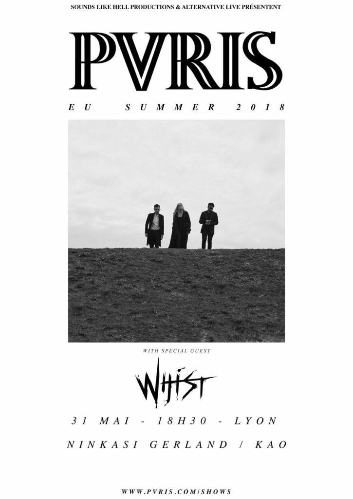 PVRIS WHIST ninkasi kao lyon sounds like hell productions alternative live