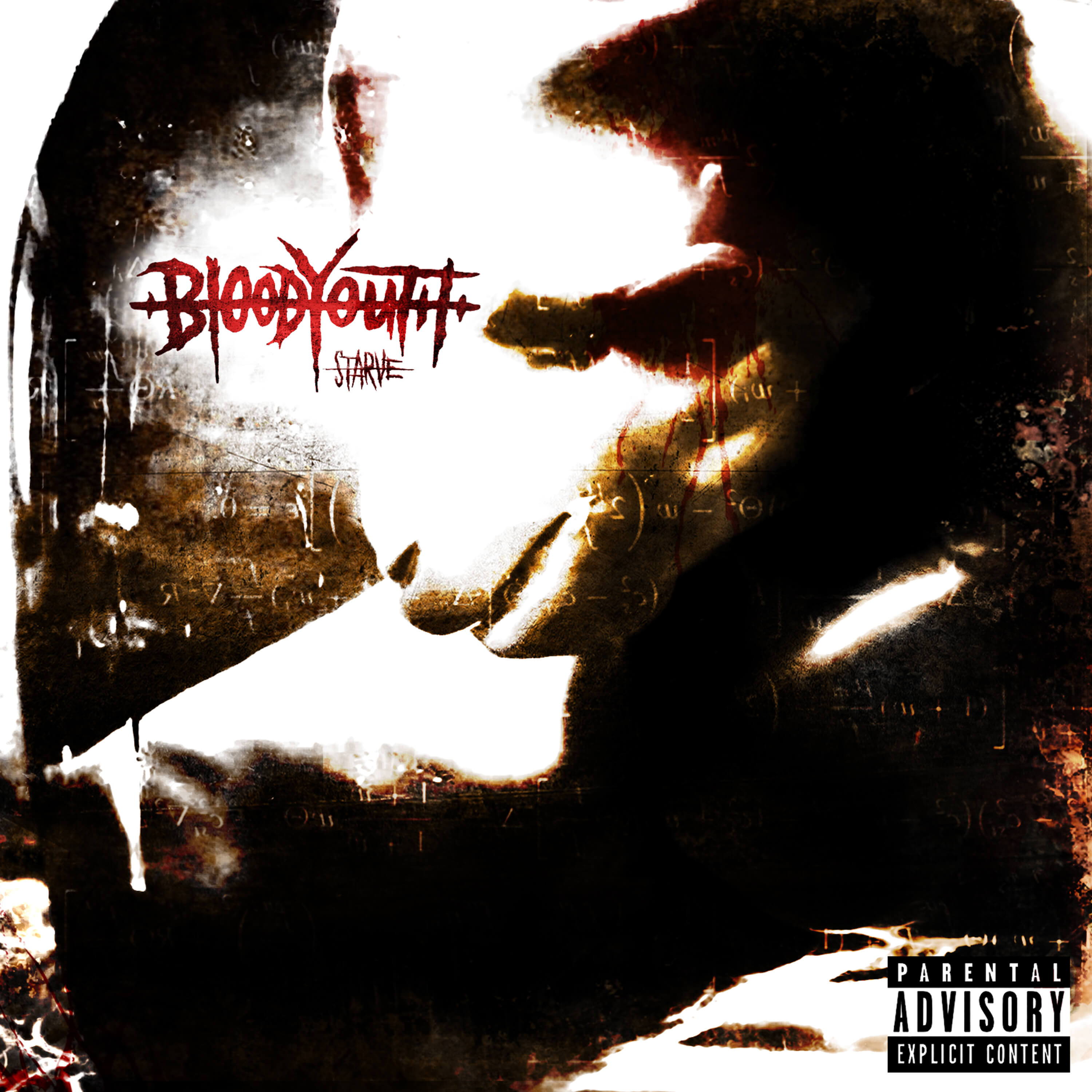 blood youth starve artwork rude records