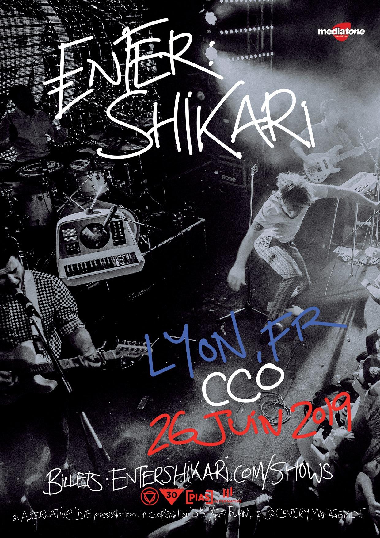 Enter Shikari oakman CCO Lyon alternative live mediatone