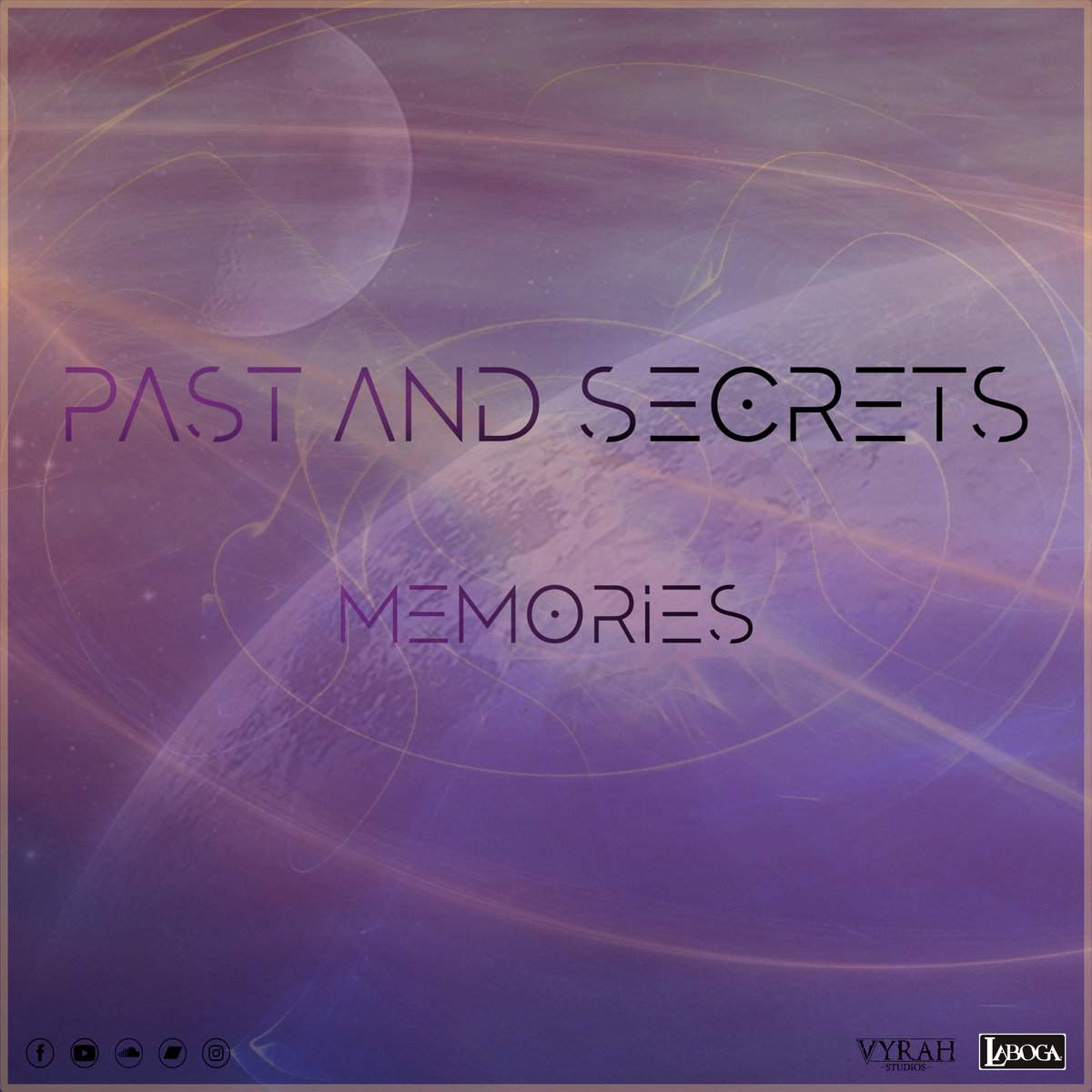 past and secrets memories EP artwork
