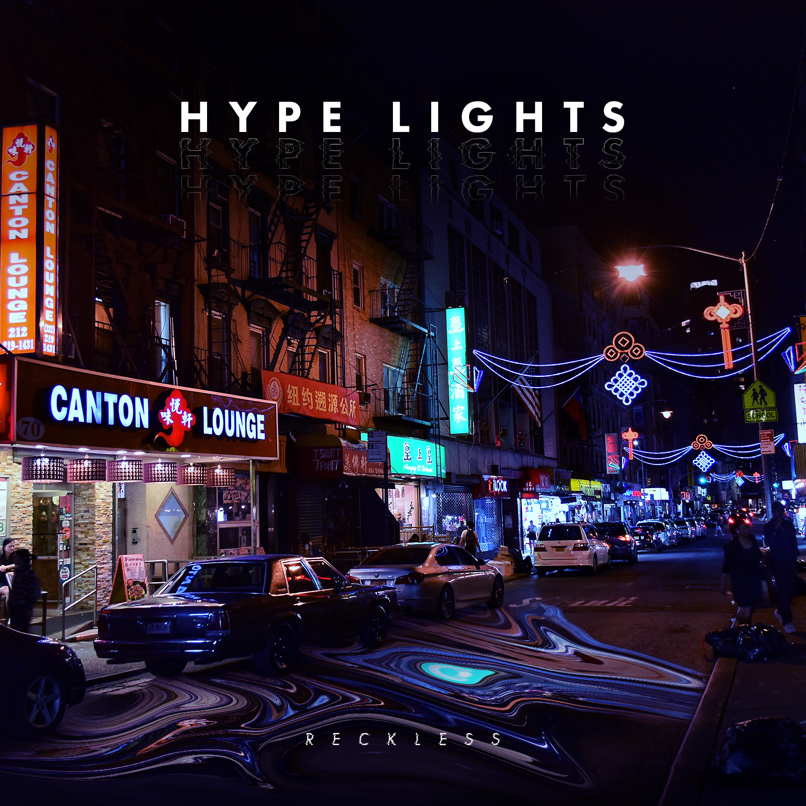 hype lights reckless EP artwork french band